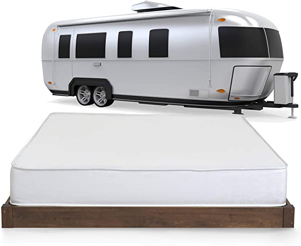 Serenia Sleep 8 Inch RV Memory Foam Mattress Short Queen Made In The USA CertiPur