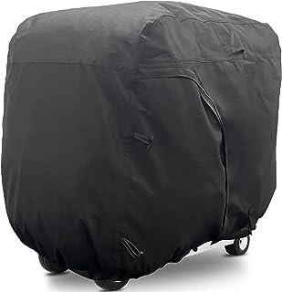 "Himal Outdoors Golf cart Cover - 4 Passenger 600D Waterproof Sunproof Club Car Golf Cart Accessories roof 80"" L, for EZ GO..."