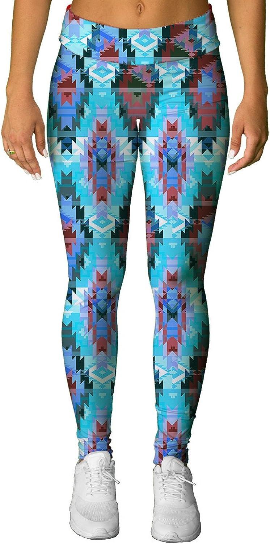 INTO THE AM Aztec Premium All Over Print Leggings