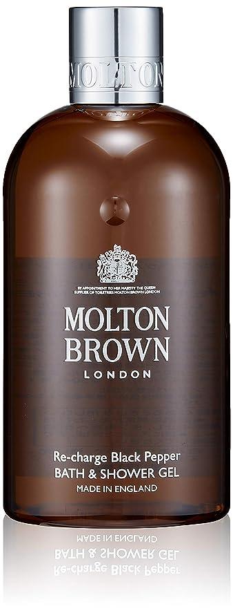 設計図アセンブリ感じるMOLTON BROWN(モルトンブラウン) ブラックペッパー コレクション BP バス&シャワージェル
