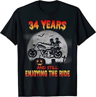 34th Wedding Anniversary Gifts For Her/Him. Halloween Shirts T-Shirt