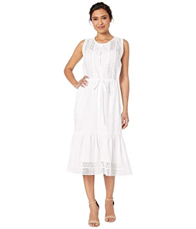 Lucky Brand Sophia Dress (Lucky White) Women