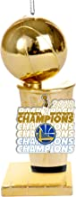 FOCO Golden State Warriors 2018 NBA Champions Trophy Ornament