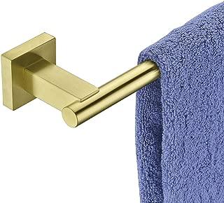 Hoooh Bath Towel Bar 26-Inch Stainless Steel Towel Rack Bathroom Towel Hanger Wall Mount Brushed Gold, A101L60-BG
