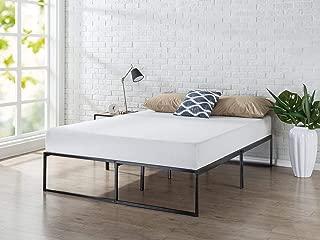 Zinus 14 Inch Platforma Bed Frame / Mattress Foundation / No Box Spring needed / Steel Slat Support, Queen (Renewed)