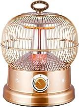 Calefactor De Jaula De Pájaros De 360 °, Estufa Eléctrica De Calefacción Doméstica, Calefactor De Ventilador De Tubo De Fibra De Carbono De Energía, Protección De Apagad(Color:segundo,Size:28*28*38CM)