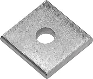 5//8 Square Plate Washer Plain Finish Thickness: 0.250 inch - OD: 3 inch Quantity: 80 pcs