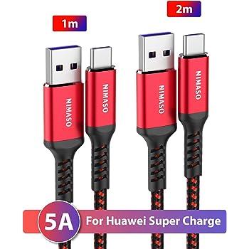 NEW'C Lot de 2 Câble USB Type C à USB 3.0 5A, Câble USB C