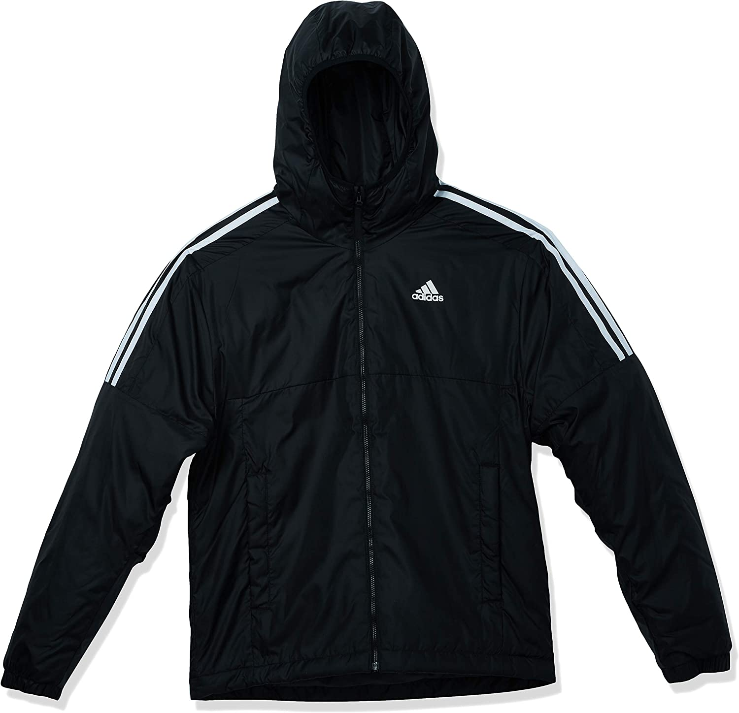 adidas mens Essentials Insulated Hooded Jacket