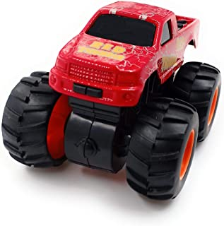 SaleOn™ 4WD Unbreakable Mini Monster Truck Friction Powered Cars for Kids Big Rubber Tires-910