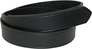 Mens Leather 1 3/8 inch hook and loop No Scratch Work Belt
