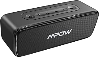 Mpow SoundHot R6 Bluetooth Speakers, IPX7 Waterproof Bluetooth Speaker with Bass, Loud Stereo Sound and TWS, 30H Playtime Portable Wireless Speaker, Wireless Stereo Pairing for Home, Party, Outdoor