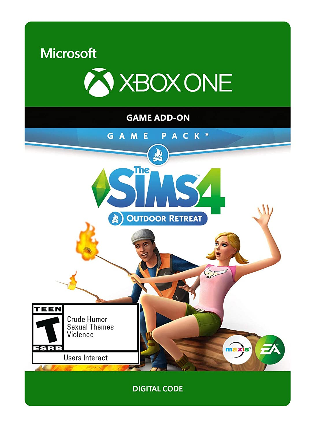 The trust Sims 4 Outdoor Retreat Xbox - Digital 2021new shipping free One Code