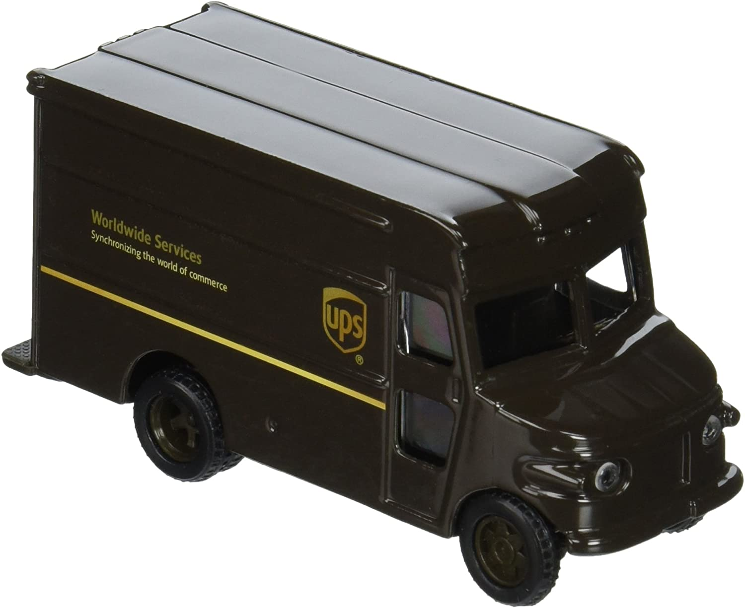 Ups United Parcel Service 4  P600 Package Car Delivery Truck