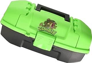 Plano Youth Zombie Fish Tackle Box, Neon Green/Black, Premium Tackle Storage