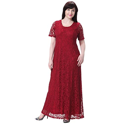33c704ad4babf Plus Size Red Formal Gowns: Amazon.com