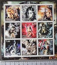 Tadjistan 2001 luis royo Fantasy Women Erotica m/Sheet MNH Women Erotica JandRStamps 404229