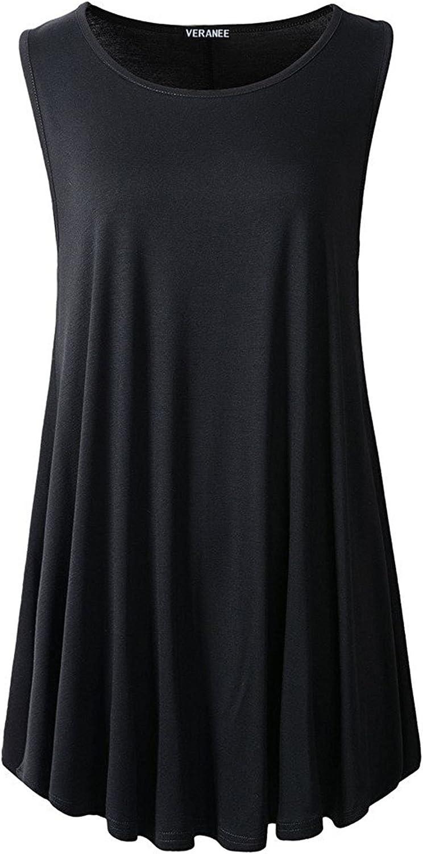 Veranee Women's Sleeveless Swing Brand Cheap Sale Venue Tunic Floral Tank 5 popular Flare Summer
