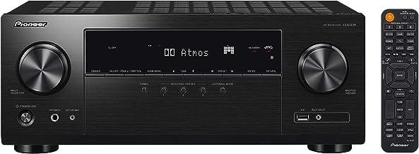 Pioneer VSX-934, Receptor AV 7.2 (160 W/canal, 4K UltraHD, Dolby Atmos, DTS:X, Wifi, Bluetooth, Hi-Res Audio, streaming, Apps de música, internet radio, Multiroom) negro