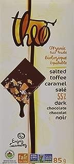 Theo Salted Toffee 55% Dark Chocolate Bar, 3 oz