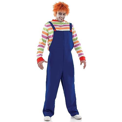 Adult Men s Evil Dummy Costume (Men  Medium) 1341546a2