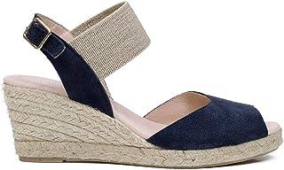Amazon Zapatos Para Marino esSandalias Azul Tacón De w8O0knP