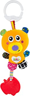 "LAMAZE Mini Basha the Bearâ""¢ Baby Toy, Clip On Baby Pram Toy & Pushchair Toy, Newborn Sensory Toy for Babies Boys & Girls..."
