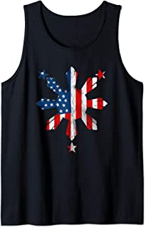 Filipino Pinoy Pride American Flag Philippines 4th of July Tank Top