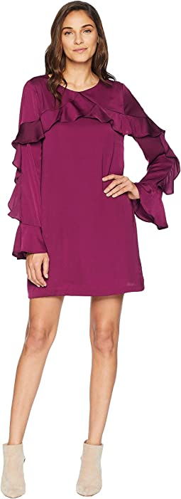 Jafar Ruffle Shift Dress