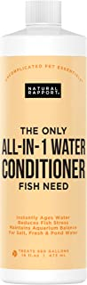 Natural Rapport Aquarium Water Conditioner - The Only All-in-1 Water Conditioner Fish Need, Naturally Detoxifies and Removes Ammonia, Nitrite, Chlorine, and Chloramine (16 fl oz.)