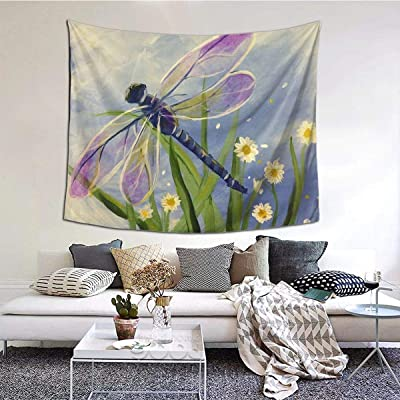 NA Floral Dragonfly Large Tablecloths Bedroom Living Room Dorm Decoration Tapestry Wall Hangings 80 * 60inches: Amazon.es: Hogar