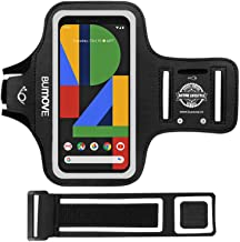 Pixel 4 XL, Pixel 3a XL, Pixel 3 XL, Pixel 2 XL, Pixel XL Armband, BUMOVE Gym Running Workouts Arm Band for Google Pixel 4XL, 3aXL, 3X, 2XL, XL with Key Holder(Black)