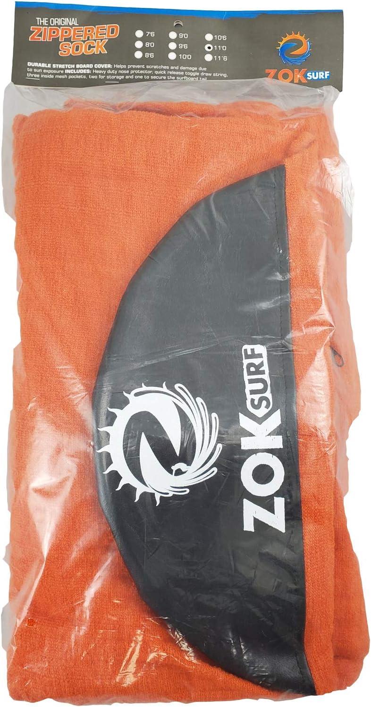 106 /& 11 Sizes Zok Surf Longboard Zippered Lightweight Protective Board Bag Sock