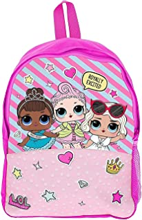 Mochila Escolar Chicas Muñecas LOL Mochilas Infantil Confetti Pop Glitterati Bolso Escolar Niñas