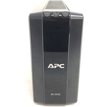 APC RS 550VA Sinewave Battery Backup 100V