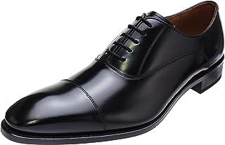 [リーガル] ロングノーズストレートチップビジネスシューズ 日本製 革靴 315R BLACK (ブラック) 大きいサイズ