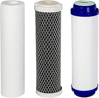 VYAIR AquaFilter Lot de 3 cartouches de filtre à eau de rechange pour système de purification d'osmose inverse RO-6