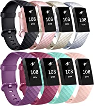 AK Bands Compatible with Fitbit Charge 3 Bands, Sports Replacement Bands for Fitbit Charge 3/Charge 3 Special Edition Women Men