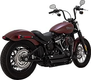 Vance & Hines 18-19 Harley FXBB Shortshots Staggered Exhaust (Black)