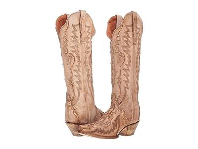 Dan Post Hallie (Bone) Cowboy Boots