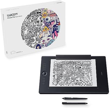 Mesa Digitalizadora Intuos Pro Paper, Wacom, Pth860P, Tablets de Design Gráfico, Preto, Grande