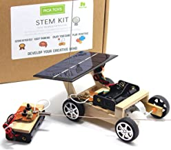 Pica Toys Wooden Solar and Wireless Remote Control Car Robotics Creative Engineering..
