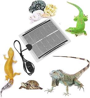Lakobos Reptile Heating Pad, USB Reptile Heat Mats 15W Adjustable Terrarium Heat Mat Reptiles Turtle, Tortoise, Snakes, Li...