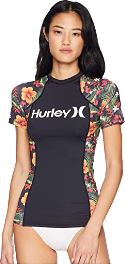 Short Sleeve One and Only Floral Rashguard