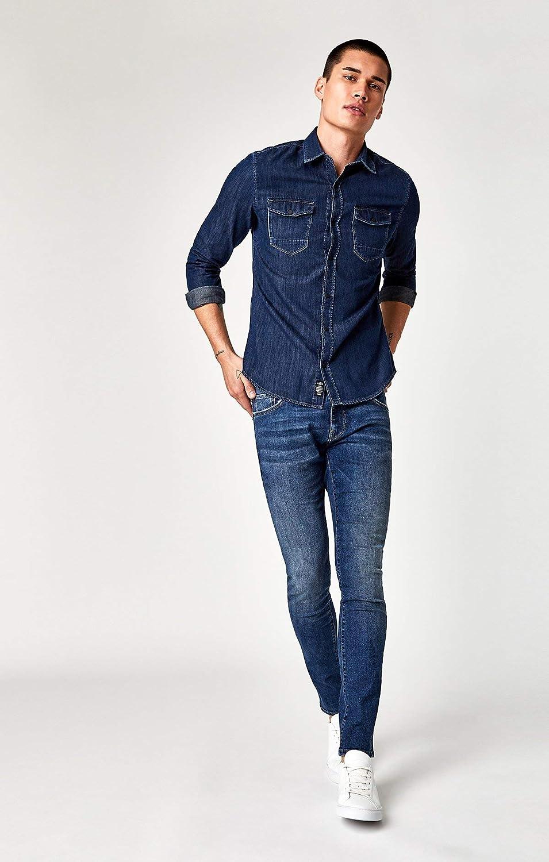 Mavi Mens Rio Tailored Denim Shirt