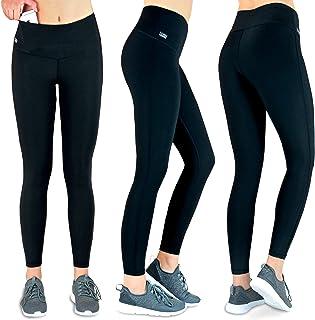bb3a6b191a Formbelt Laufhose Damen mit Tasche lang - Leggins Stretch-Hose Lauf-Tights  für Smartphone
