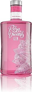 Ginebra Rosa de Los Vientos. Fresas, Frambuesas y Bayas de Enebro. Botella de 70 Cl. Volumen de Alcohol 37,5º (1 Botella)
