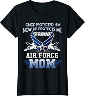 Womens Pride Military Family - Proud Mom Air Force T Shirt Gift