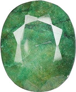 Real Gems Gran Piedra Preciosa Suelta de Esmeralda Verde Natural, Forma Ovalada 454,50 Quilates Bonita Piedra Esmeralda fa...
