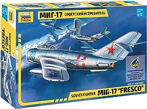 Zvezda 7318 500787318-1:72 MIG-17 Fresco Soviet Fighter - Juego de construcción de maqueta para Principiantes (sin lacar)